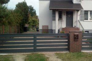 Wicket und Aluminium horizontale Tür 5