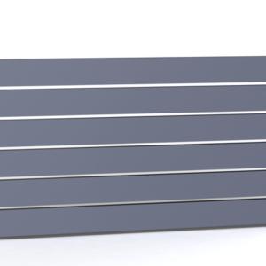 Wicket und Aluminium horizontaler Zaun Zaunfeld